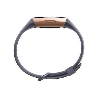 Fitbit Charge 3 Activity Tracker Bundle, Rose Gold ** FREE