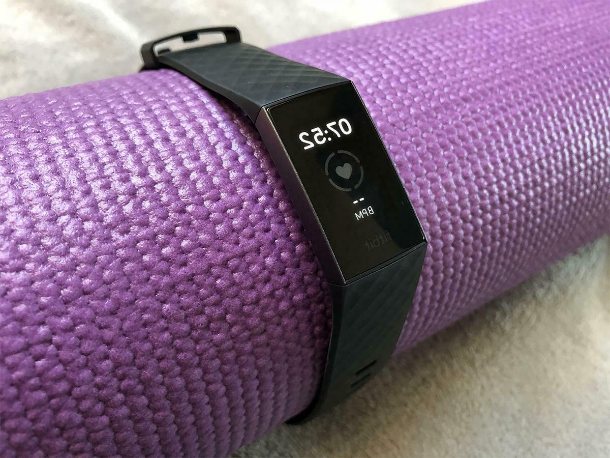 Fitbit Charge 3 Activity Monitor Large Small