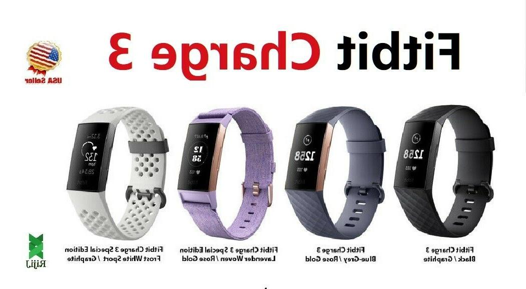 charge 3 fitness activity tracker heart rate