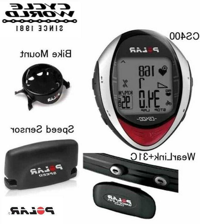 POLAR Heart Monitor Wireless Sensor Running Bike Exercise