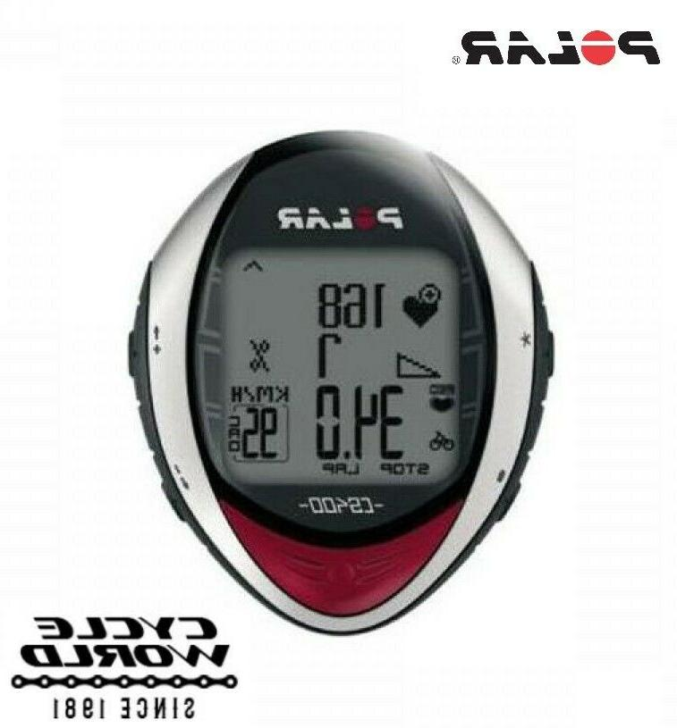 cs400 heart rate monitor wireless sensor running