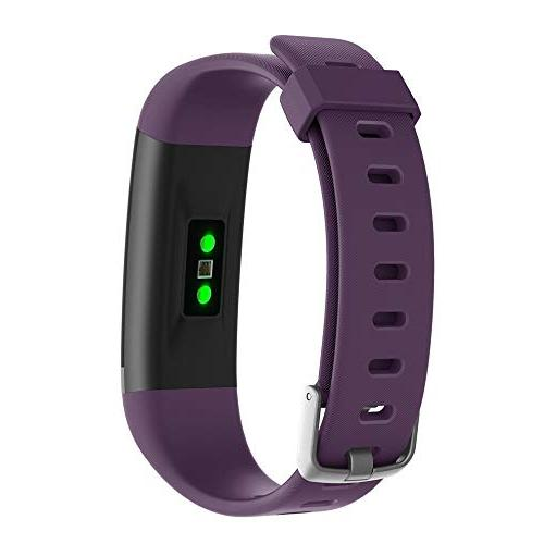 moreFit Dare HR, with Heart Smart Sleep Exercise Watches Counter Modes for