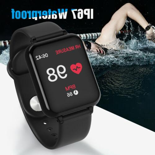 fitness activity tracker bracelet heart rate blood