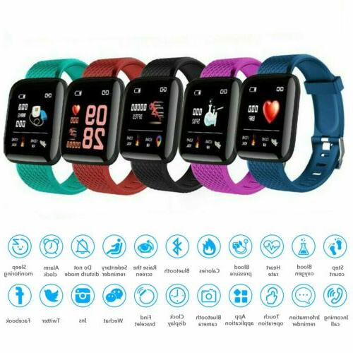 fitness activity tracker smart watch band heart