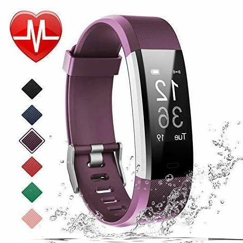 Fitness Tracker Fitbit Heart Rate Pedometer