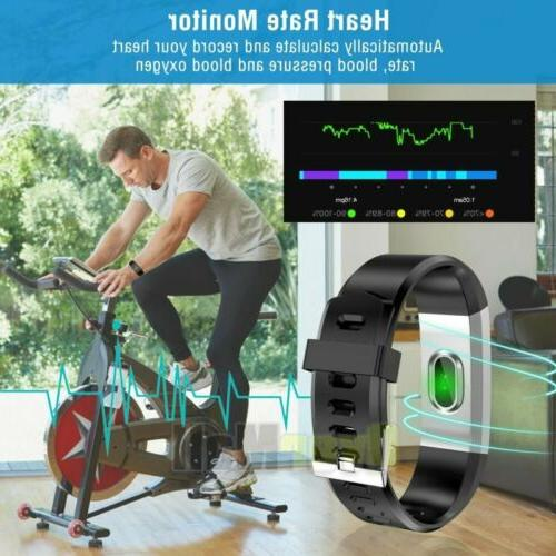 Fitness Fit**bit Smart Activity Women Men Android iOS Heart