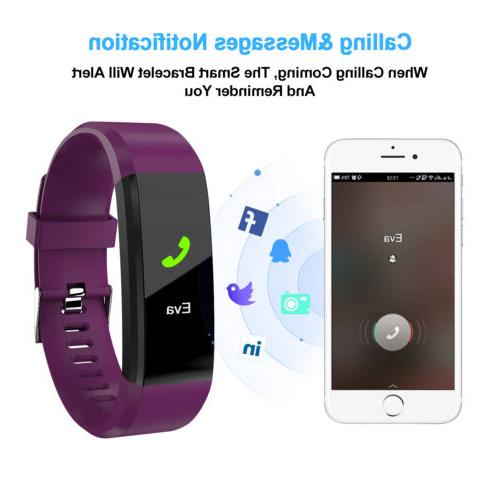 Fitness Smart Watch Activity Tracker For Women Fitbit iOS