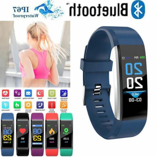 Fitness Smart Watch Activity Tracker WomenMen Kids Fitbit An