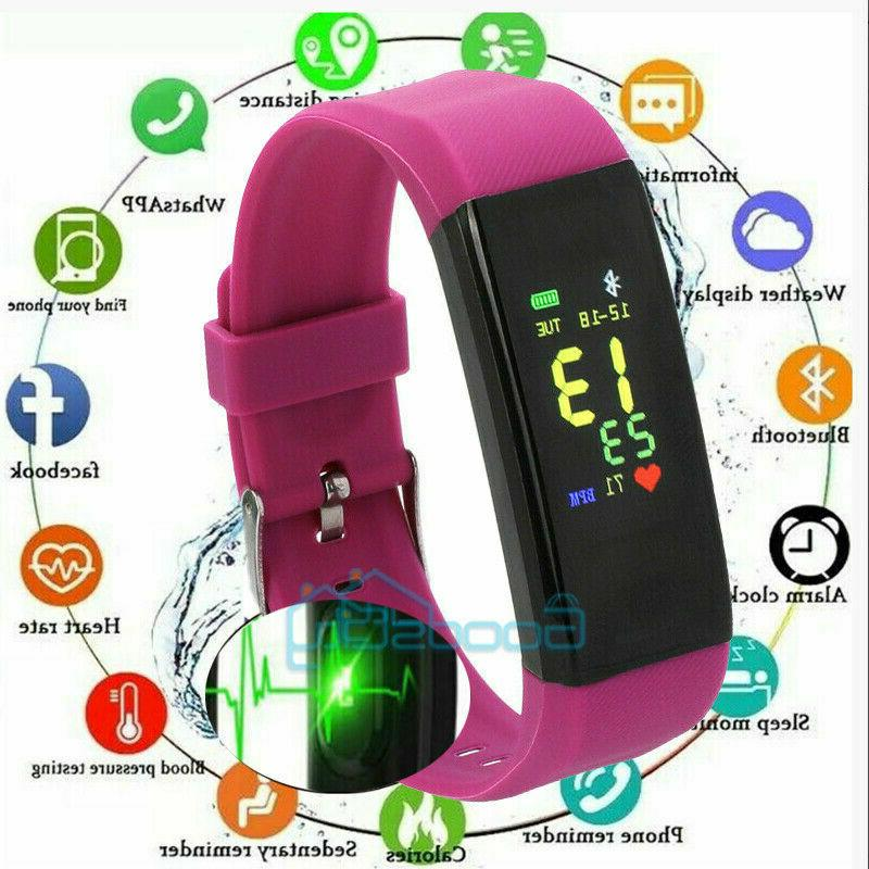 Smart Watch Waterproof Heart Rate Fitness Caolorie