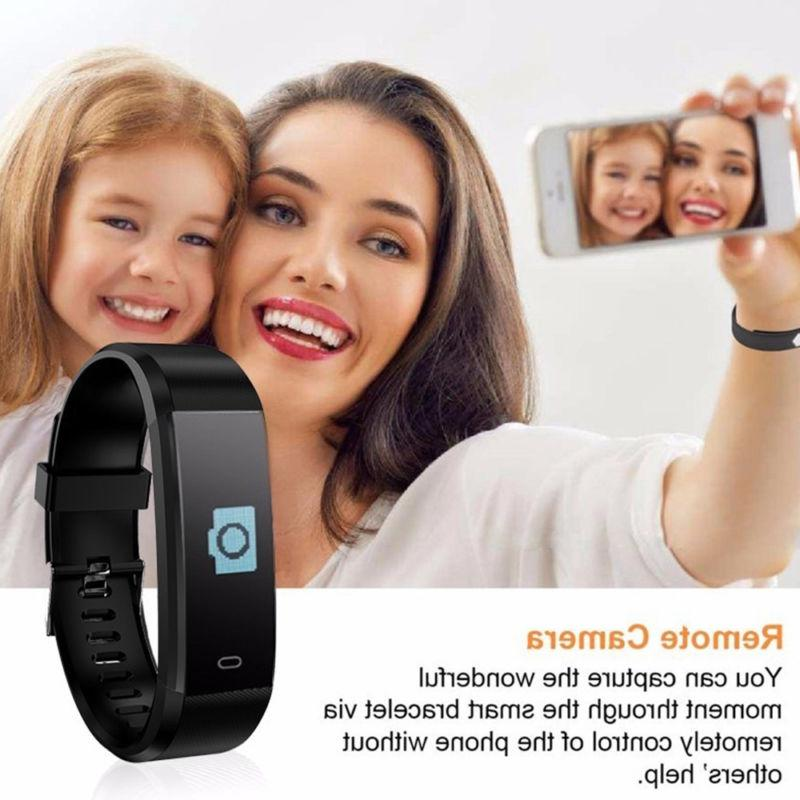 Smart Watch Band Heart Rate Blood Fitness Activity