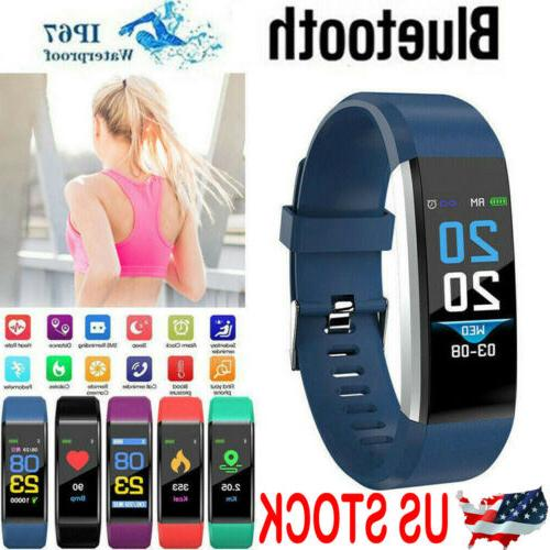 Fitness Smart Watch Activity Tracker Women Men Fitbit Androi