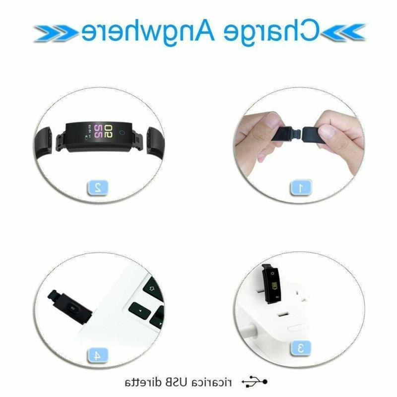 Fitness Smart Watch Activity Tracker Android
