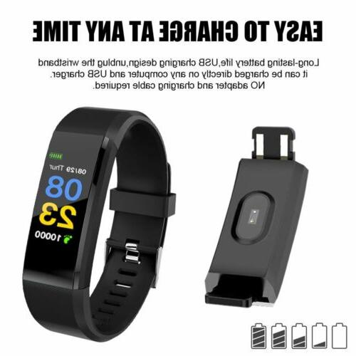 Fitness Watch Activity Tracker WomenMen Android iOS Rate