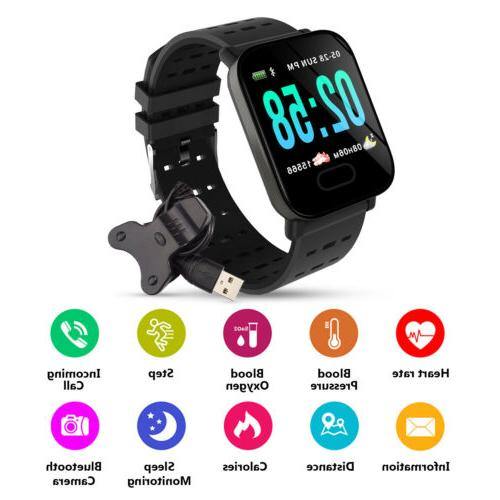 Android Fitness Watch Tracker Kid