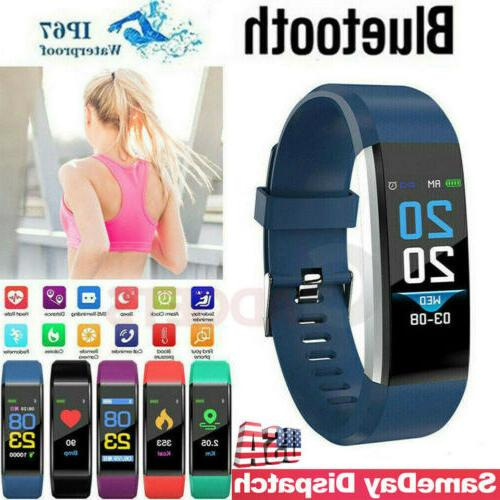Fitness Smart Watch Activity Tracker Women Men Kids For Andr