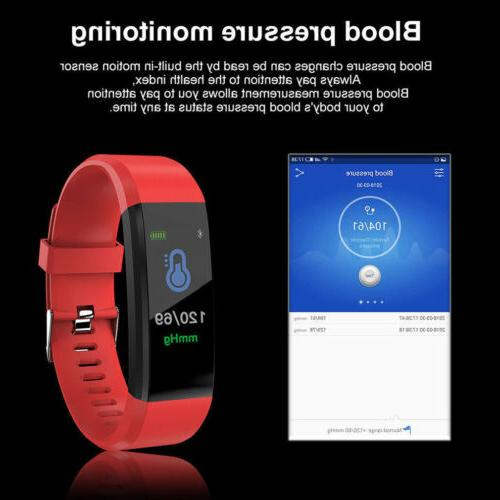 Rate Smart Watch Activity Tracker