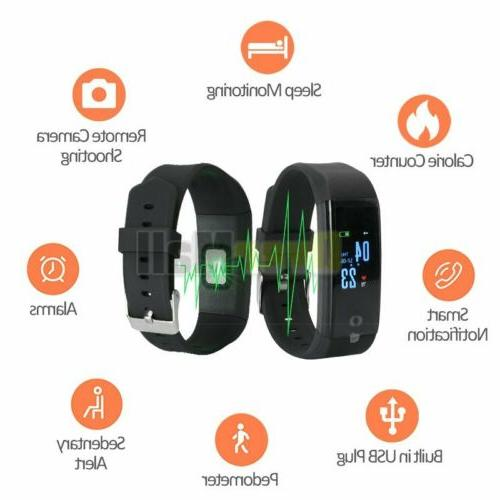 Fitness Smart Activity Tracker For Fitbit Android iOS