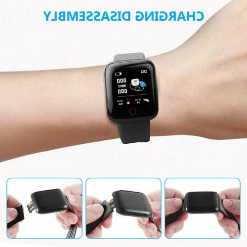 Fitness Activity Smart Watch Band Heart Rate