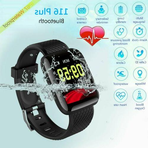 Fitness Activity Tracker Watch Heart Rate Oxygen
