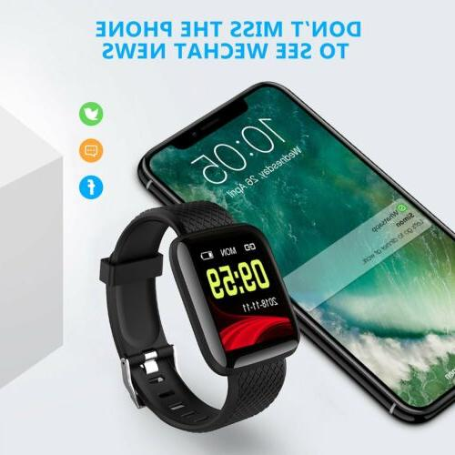 Fitness Activity Watch Band Oxygen Blood
