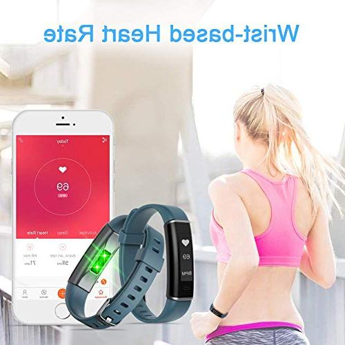 Letsfit Tracker with Heart Rate Watch, Waterproof Activity Tracker Counter, Sleep Tracker Kids Women and