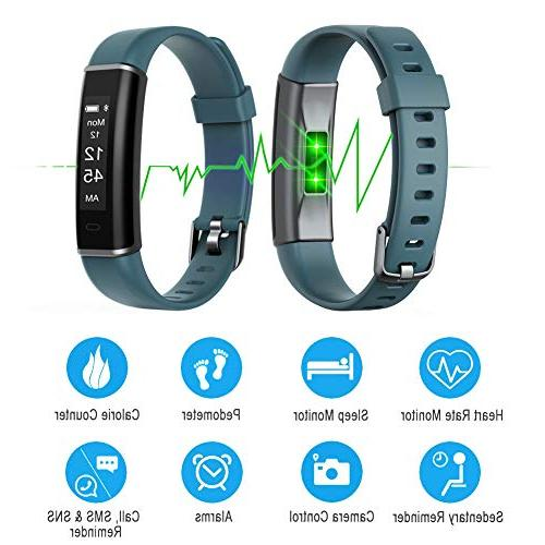 Letsfit Fitness Heart Watch, Activity Tracker with Tracker for and
