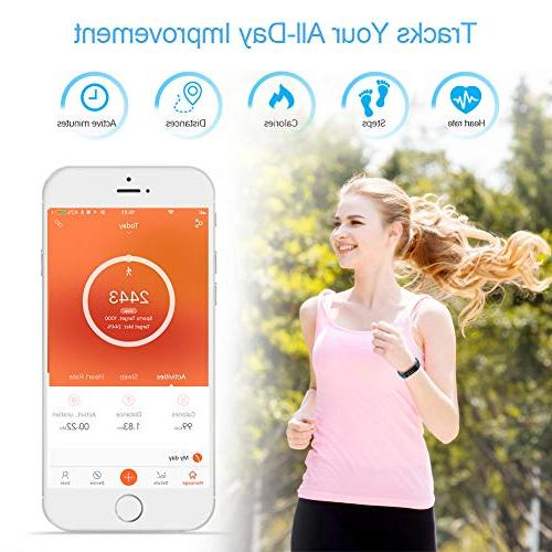 Letsfit with Heart Rate Monitor, Pedometer Watch, Smart Watch Activity Tracker Counter, Tracker for Kids Women