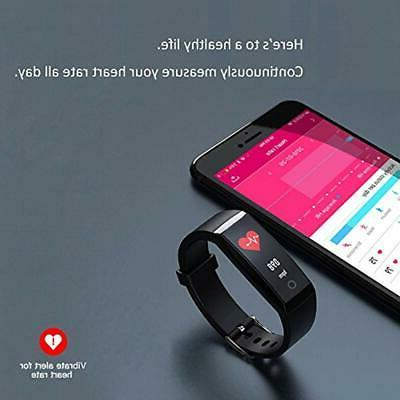 Fitness Tracker Activity With Pressure
