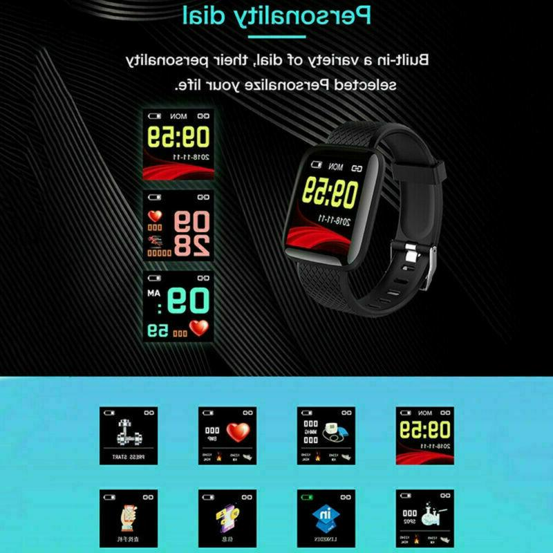 Fitness Activity Watch Band Heart Rate Oxygen
