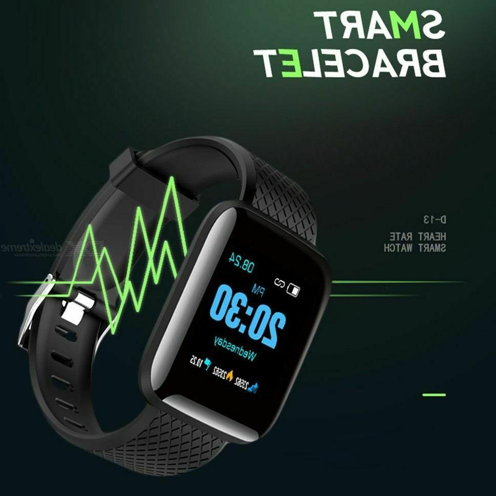 Fitness Tracker Activity Watch Oxygen Blood