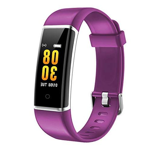 fitness tracker ft901 color screen smart wristband