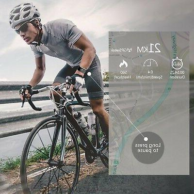 Juboury Fitness Heart Rate Activity Touch Screen Wearable