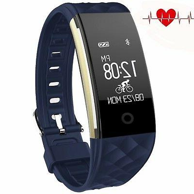 fitness tracker heart rate activity tracker touch