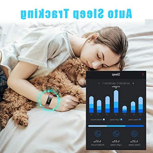 LETSCOM HR Color Heart Monitor, Waterproof Sleep Monitor, Watch for Men Kids