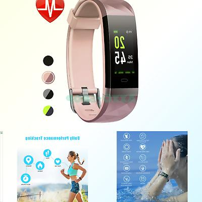 LETSCOM HR Color Screen, Heart Rate Monitor, IP68 Watch Sleep Monitor, for Women Kids