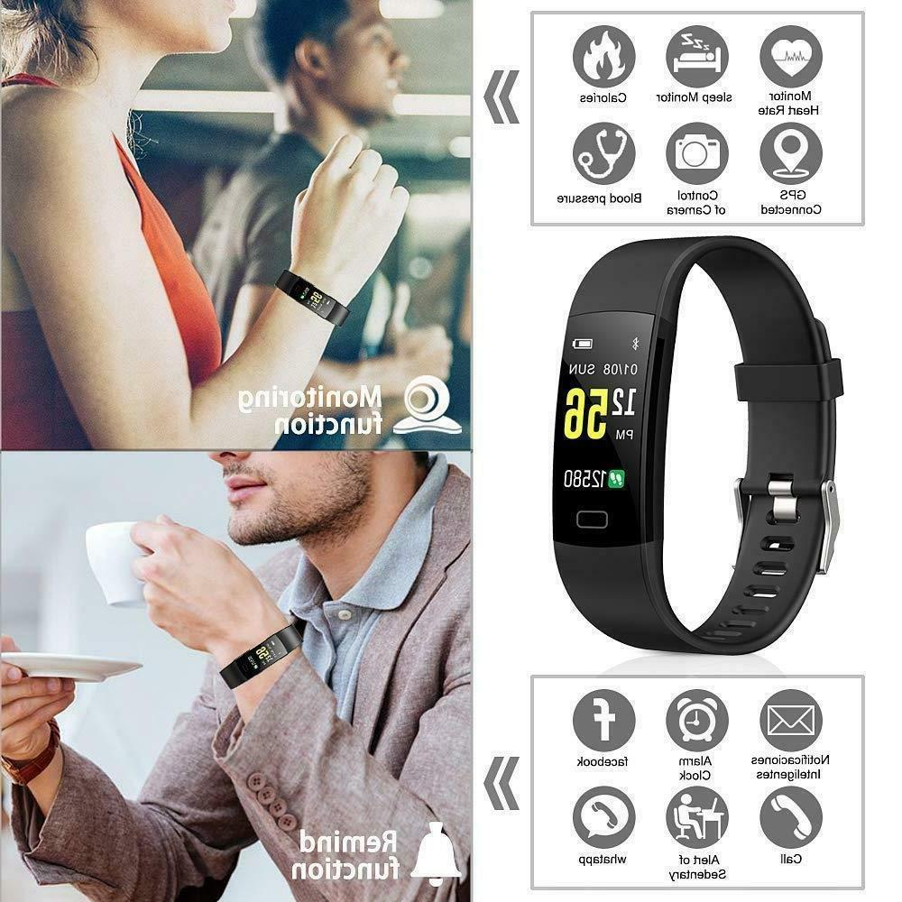 Juboury Fitness Activity Tracker Heart Rate Monitor