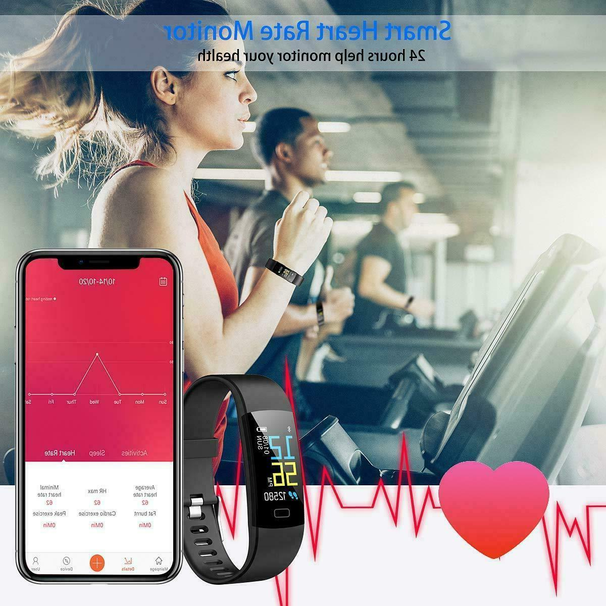 Juboury Tracker HR, Activity Heart