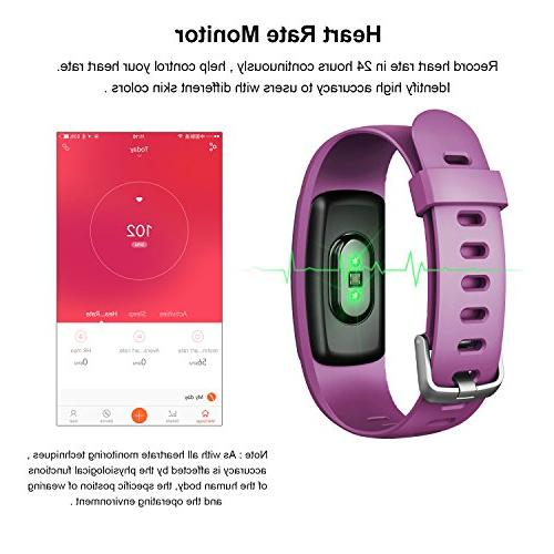 ID107Plus Pedometer Rate Auto Monitor Tracker for Android