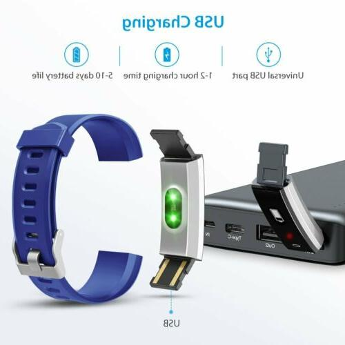 Fitness Tracker Color Screen Watch Activity