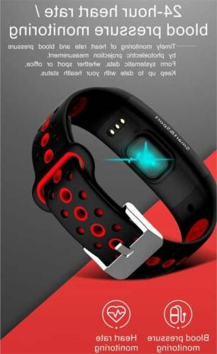 New Watch Fitness Activity Tracker Sport with Heart Rate Monitor