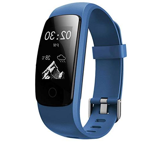 fitness tracker touch activity tracker hr waterproof
