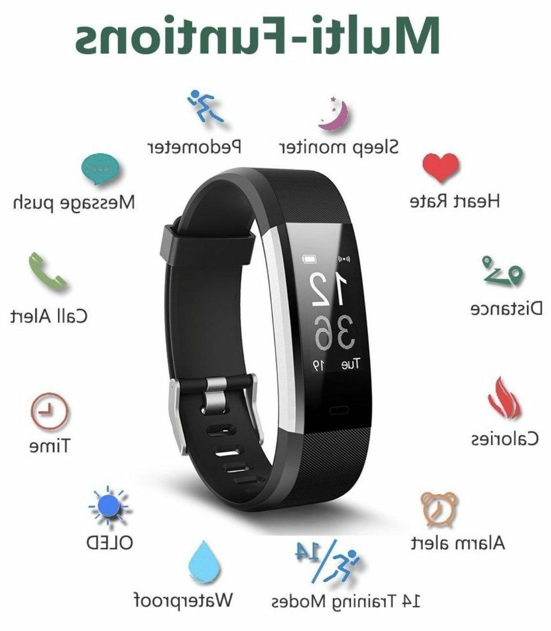 Fitness Activity Tracker with Monitor