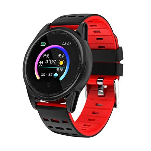 Fitness Watch Silicone Women Tracker Rate Step Counter Smart