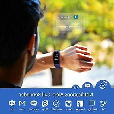 Fitness Tracker Waterproof Activity With
