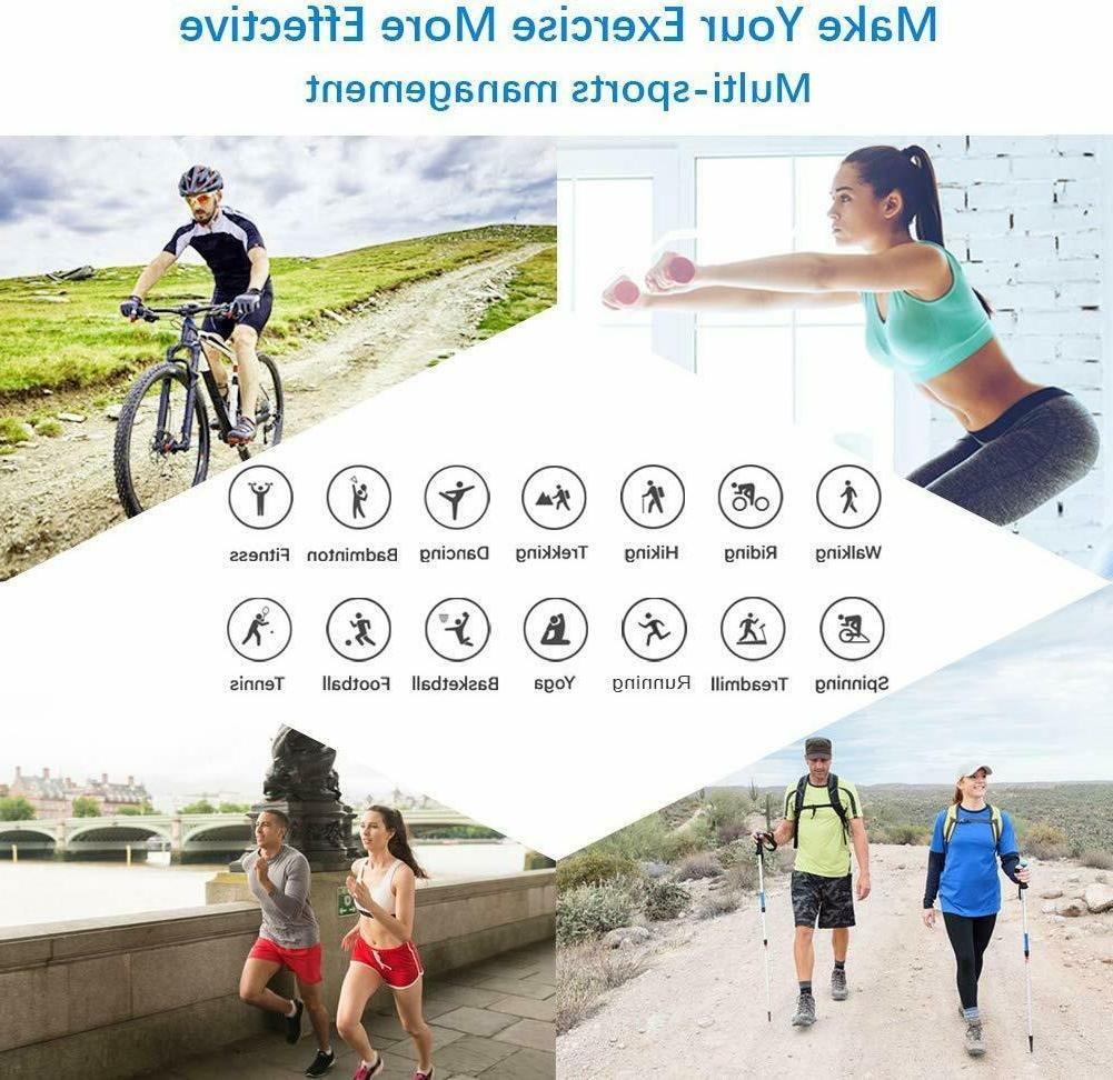 Fitness Tracker Tracker with Heart Rate Monitor,