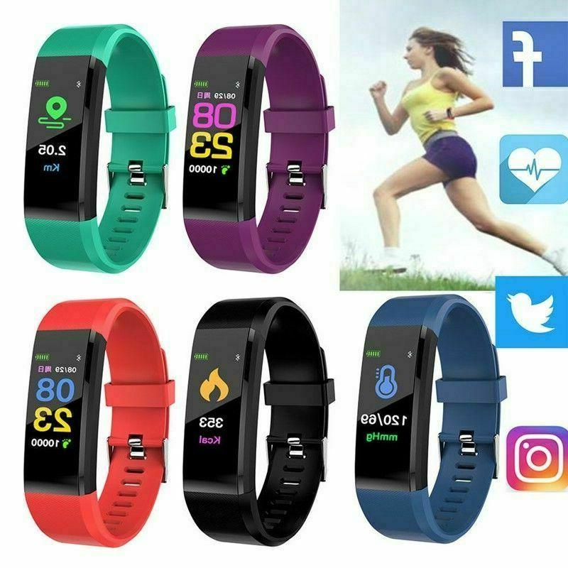 Fitness Tracker Activity Tracker Watch with Heart Rate Monitor, Waterproof