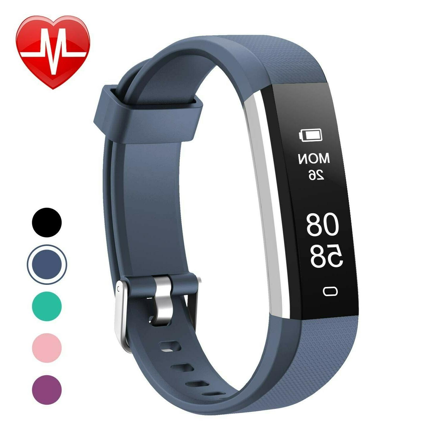 fitness tracker with heart rate monitor slim