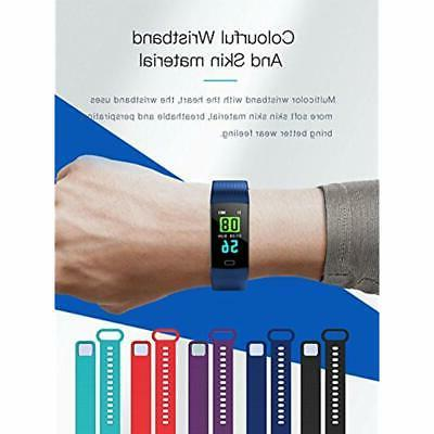 Fitness Tracker With Blood Pressure Screen Activity