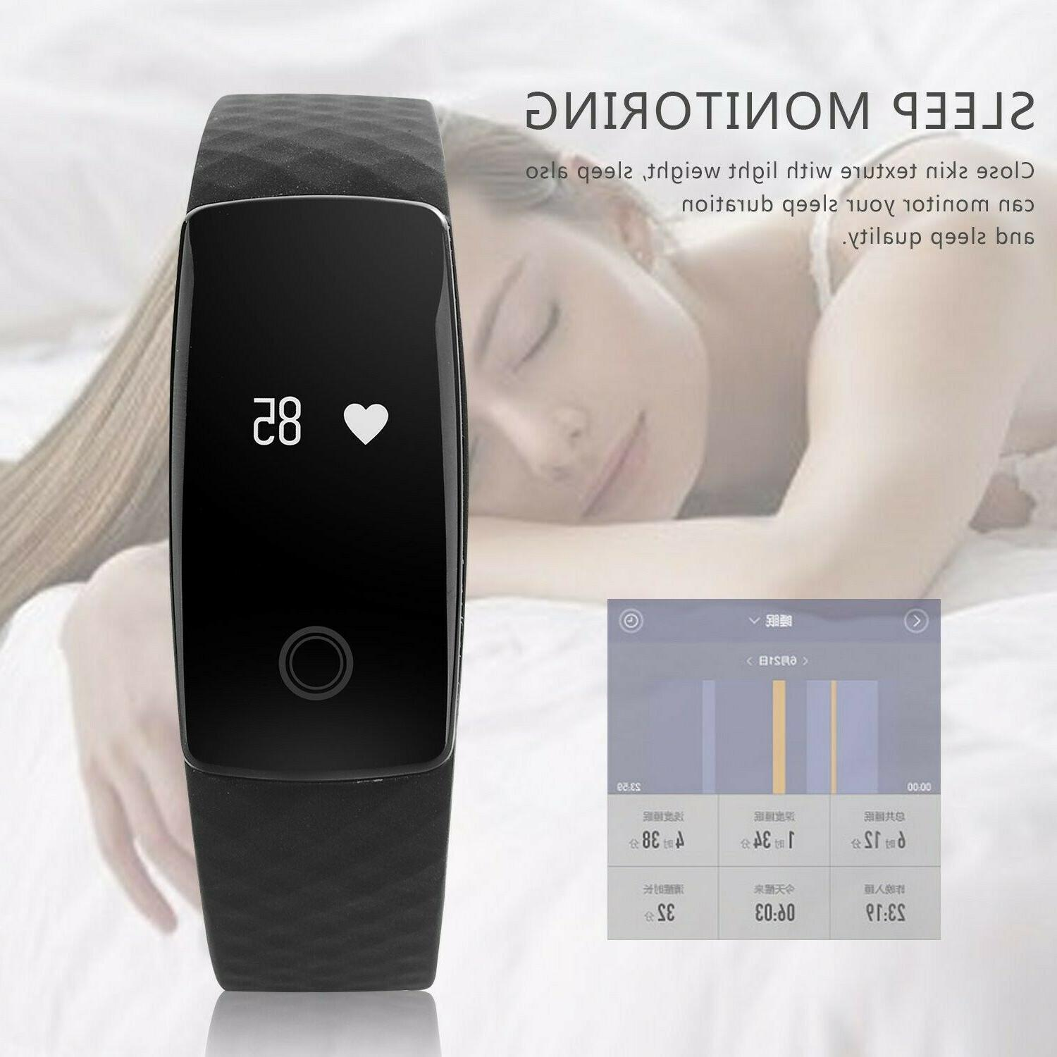 Activity Bracelet with Heart Monitor
