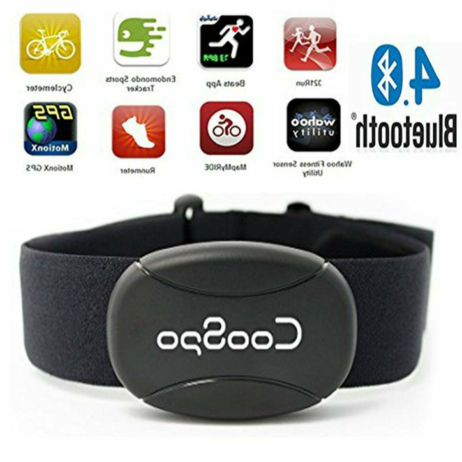 heart rate monitor sensor chest strap fitness